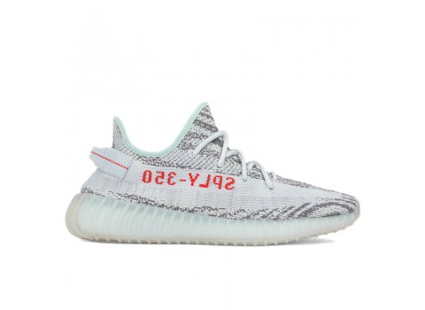 "Adidas Yeezy Boost 350 V2 ""Blue Tint"" Grey Three High Res Red (B37571) Online Sale"